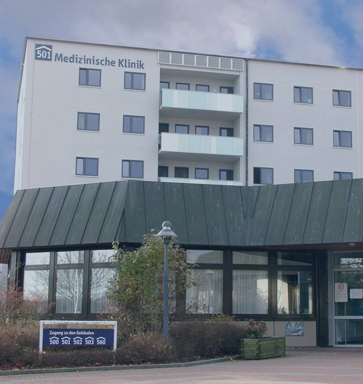 Eingang des nNGM Standorts Tübingen